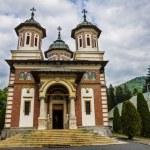 Romanian Sinaia monastery, Sinaia - Romania — Stock Photo #64590595