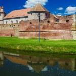 Fagaras fortress and castle - Fagaras, Romania, Transylvania — Stock Photo #64590645