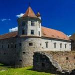 Fagaras fortress and castle - Fagaras, Romania, Transylvania — Stock Photo #64590667