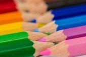 Set of color pencils — Stock Photo