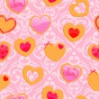 Seamless Valentine's Day pattern — Stock Vector #62693403