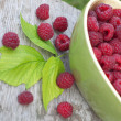 Fresh raspberry — Stock Photo #56013097