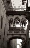 Gothic quarter in Barcelona — Stock Photo