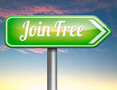 Word gratis lid — Stockfoto