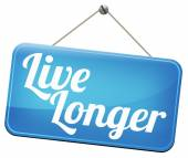 Live long healthy lifestyle — Stock Photo