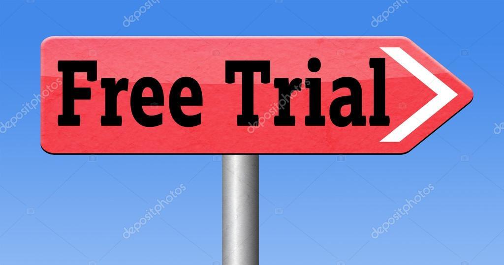 Free trial sample — Stock Photo © kikkerdirk #53212139