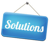 Find solutions — Stock Photo