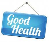 Good health sign, — Stock Photo