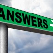 Find answers on your questions — Stock Photo #53478011