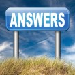 Find answers on your questions — Stock Photo #53478103