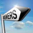 Find answers on your questions — Stock Photo #53478217