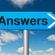 Find answers on your questions — Stock Photo #53478481