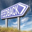 Feedback for service and customer satisfaction — Stock Photo #53479425