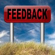 Feedback for service and customer satisfaction — Stock Photo #53479623