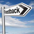 Feedback for service and customer satisfaction — Stock Photo #53479933