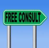 Free consult — Stockfoto