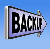 Backup data and software — Stock Photo