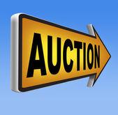 Internet-auktion — Stockfoto
