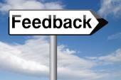 Benutzer-Feedback und Kundenzufriedenheit — Stockfoto