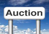 Online-auktion — Stockfoto