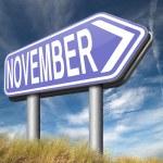 Постер, плакат: November next month