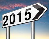2015 Nieuwjaar — Stockfoto