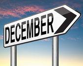 Décembre est le dernier mois de l'année — Photo