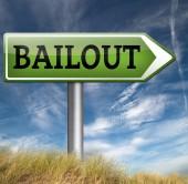 Bankruptcy economic crisis — Stock Photo