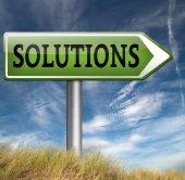 Lösungen zu finden — Stockfoto