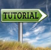 Tutorial learn online — Stock Photo
