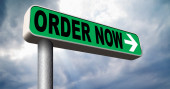 Order now — Stock Photo
