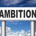 Ambition think big set — Stock Photo #54228789