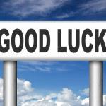 Good luck — Stock Photo #54229279
