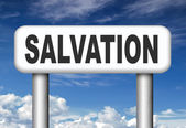 Salvation sign — Stock Photo