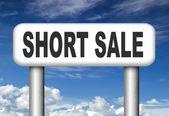 Short sale — Stock Photo