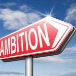 Ambition think big set — Stock Photo #54905079