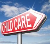 Child care — Stock Photo