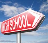 High School — Stock Photo
