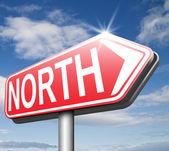 Северный знак — Стоковое фото