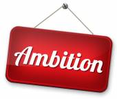Ambition think big set — Foto Stock