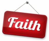 Glaube und Vertrauen — Stockfoto