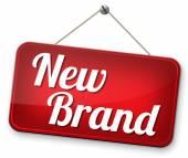 New brand — Stock Photo