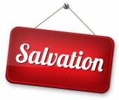 Salvation sign — Stockfoto