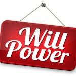 Will power — Stock Photo #55361437