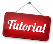 Tutorial learn online — Stock Photo
