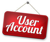 Your user account — Stock Photo