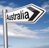 Australia sign — ストック写真