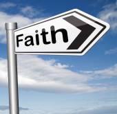 Faith and trust — Stock Photo
