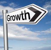Growth sign — Stockfoto