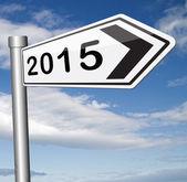 2015 new year — Stock Photo